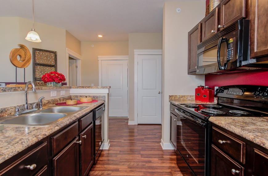 Bloomington model kitchen